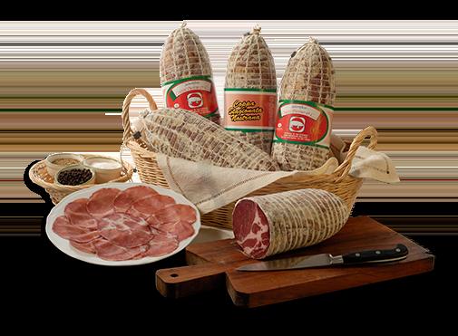 salumi - Salumificio - Coppa